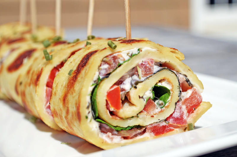 Dutch breakfast wrap