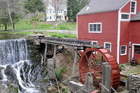 Grist water mill in Bridgewater, Connecticut