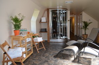 View of relaxing wellness area
